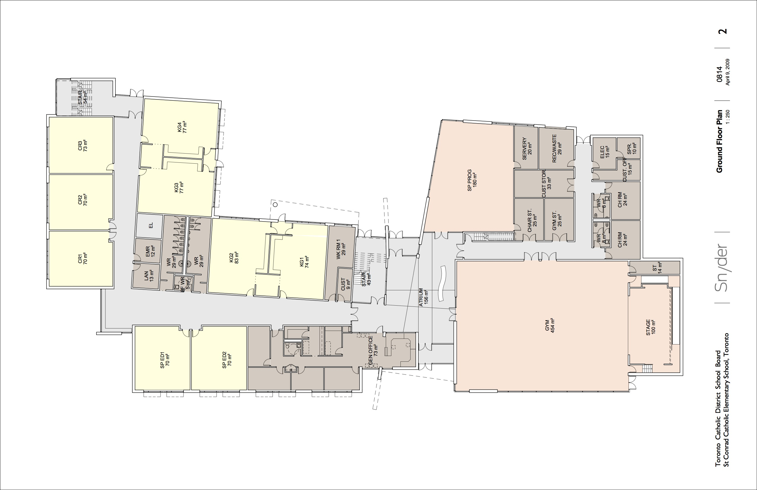St conrad layout snyder for Floor map design